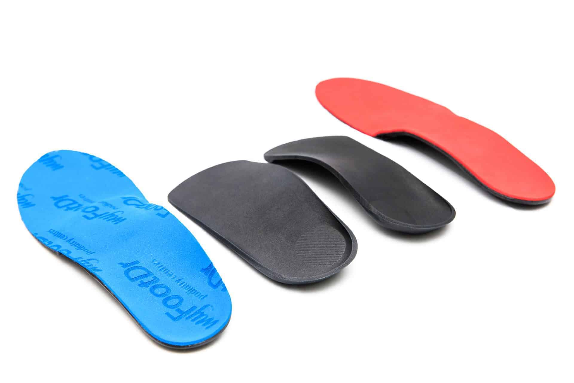 MyFootDr variety of Custom Foot insoles