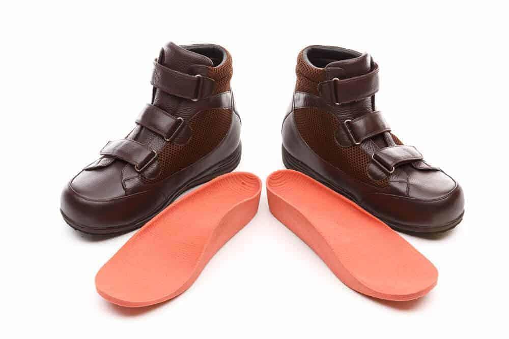 Custom Footwear Dark Brown Shoes with custom insoles