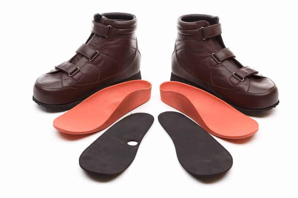 Custom Footwear Dark Brown Shoes with customised insoles