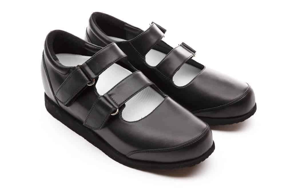 Custom Footwear black shoes