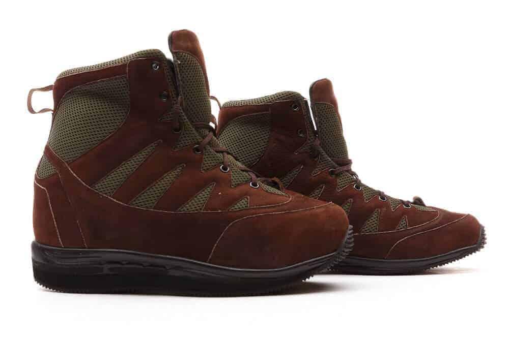 Custom Footwear High cut red shoes