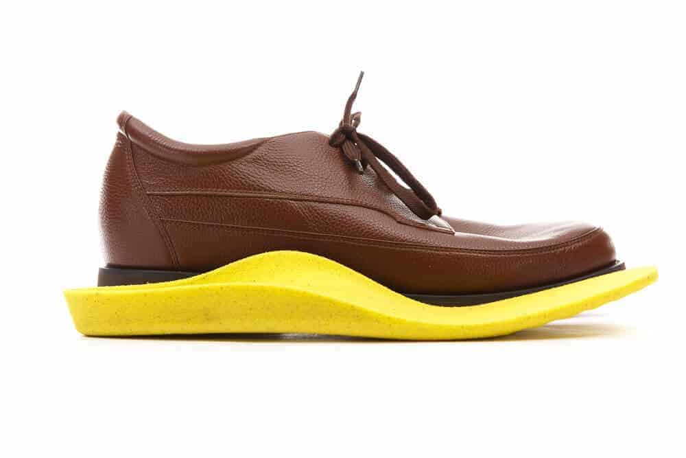 Custom Footwear and customised yellow insoles