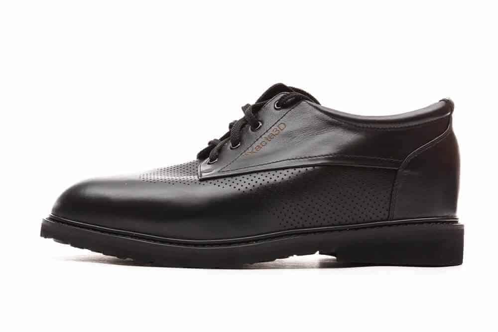 Exacta 3D Side view black shoes