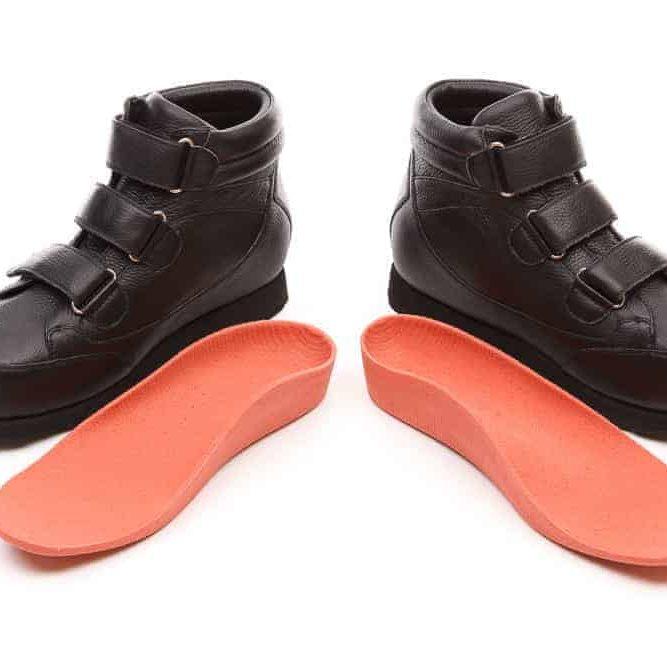 Exacta3d Custom Black Shoes Orthotics