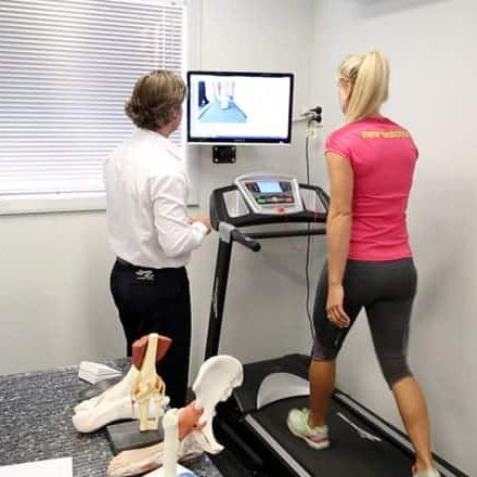 My FootDr-Genevieve Lacaze on Treadmill